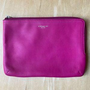 Coach mini iPad sleeve